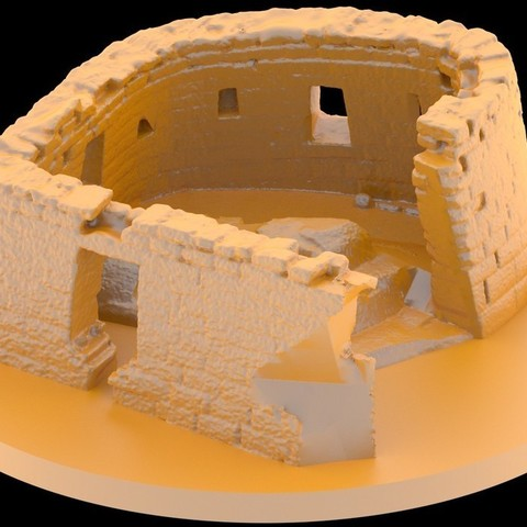 Free 3D model Ruins of Machu Picchu - Temple of the Sun, Bolog3D