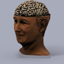 Free STL file BrainyWalt, Bolog3D