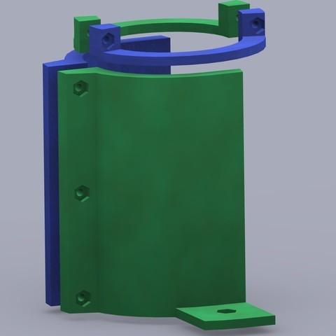 GlueGunSupports_v1BackView_display_large_display_large.jpg Télécharger fichier STL gratuit Support pour pistolet à colle • Plan pour imprimante 3D, Bolog3D