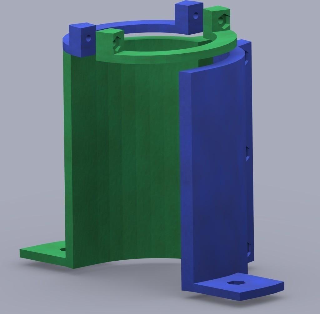 GlueGunSupports_v1FrontView_display_large_display_large.jpg Télécharger fichier STL gratuit Support pour pistolet à colle • Plan pour imprimante 3D, Bolog3D