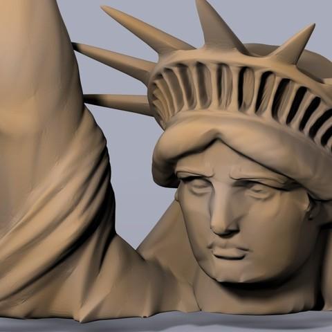 Télécharger fichier impression 3D gratuit Statue de la Liberté en haute résolution, Planète de l'Edition des Singes, Bolog3D