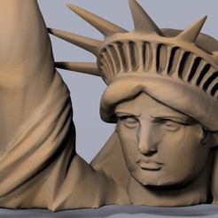 Download free 3D printer designs High Resolution Statue of Liberty, Planet of the Apes Edition, Bolog3D