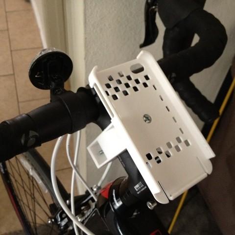Télécharger STL gratuit Fixation de vélo pour iPhone 5, 4 et 4S, Bolog3D