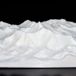 Free STL Mount Everest, Bolog3D