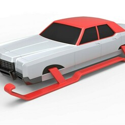 1.jpg Download STL file Diecast Car of Santa Scale 1 to 25 • 3D printer design, CosplayItemsRock