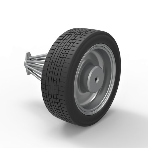 4.jpg Download STL file Diecast slab wheel Scale 1 to 10 • 3D print design, CosplayItemsRock