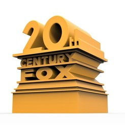 1.jpg Download STL file 3D printable  20th Century Fox logo • 3D print template, CosplayItemsRock