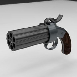 Download free 3D printing designs Revolver, 3DTechDesign