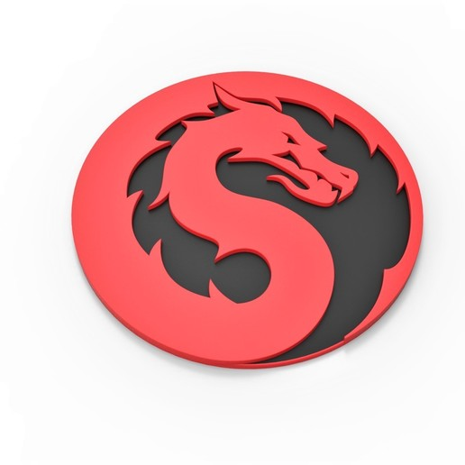 Download Stl File 3d Printable Mortal Kombat 2021 Logo Cults