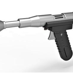 Télécharger fichier imprimante 3D Pistolet blaster KYD-21 du film Star Wars L'attaque des clones, 3DTechDesign