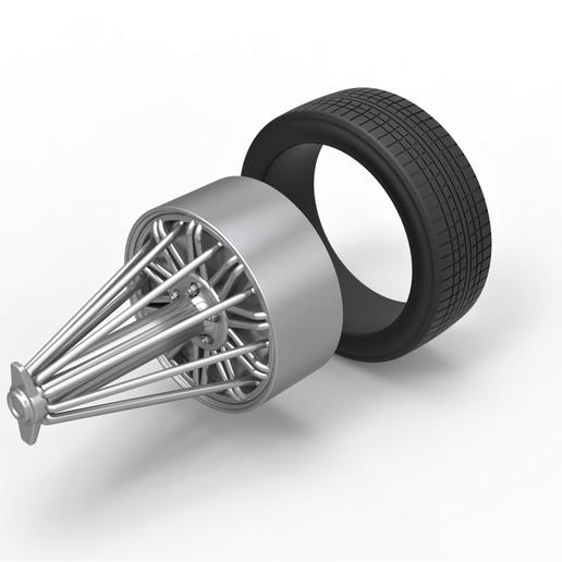 7.jpg Download STL file Diecast slab wheel Scale 1 to 10 • 3D print design, CosplayItemsRock