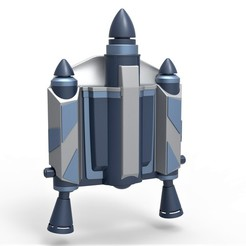 1.jpg Download STL file Jango Fett Jetpack from Star Wars Attack of the Clones 2002 • 3D print design, CosplayItemsRock