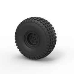 Modelos 3D Diecast Offroad rueda 18, DmK
