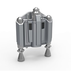 1.jpg Download STL file Jetpack from The Mandalorian TV series • 3D printable object, CosplayItemsRock