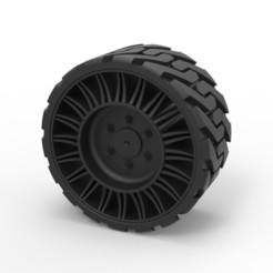 STL Diecast Twheel from Front loader, DmK