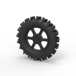 Descargar archivo 3D Diecast Offroad rueda 20, 3DTechDesign