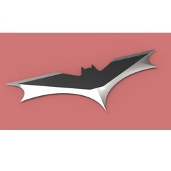 STL file Batarang version 3, DmK