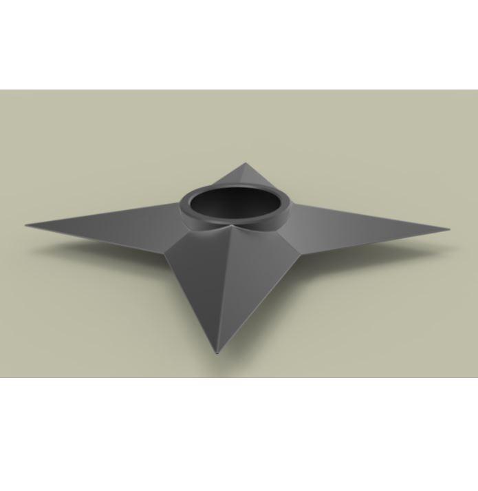 3.JPG Download free STL file Shuriken 2 • 3D printable model, CosplayItemsRock