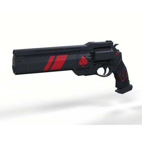 3D printer files Ace of Spades Hand cannon from Destiny 2, DmK