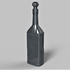 Download STL Klingon blood wine bottle from Star Trek The Next Generation, DmK