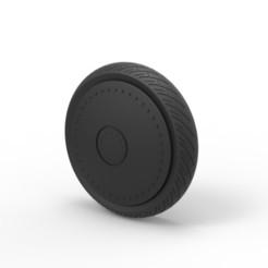 Imprimir en 3D Diecast Rueda de coche 3, 3DTechDesign
