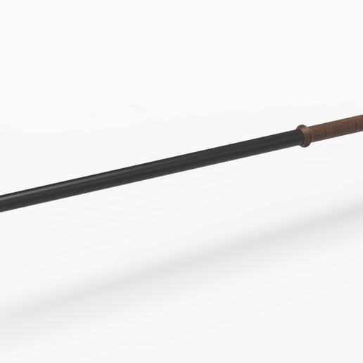 1.jpg Télécharger fichier STL Baguette du professeur McGonagall du film Harry Potter • Modèle imprimable en 3D, CosplayItemsRock