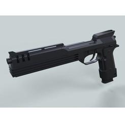 STL file Auto-9 gun from RoboCop, DmitriyKotliar
