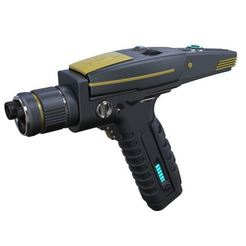 Download 3D printer designs Accurate replica of Phaser pistol from Star Trek Discovery, 3DTechDesign