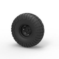 Download 3D print files Diecast Offroad wheel 9, DmK