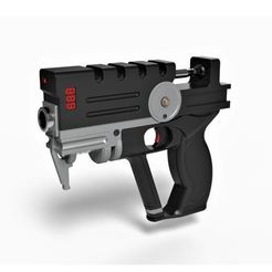Download 3D printing templates Blaster of Korben Dallas from movie The Fifth Element, 3DTechDesign
