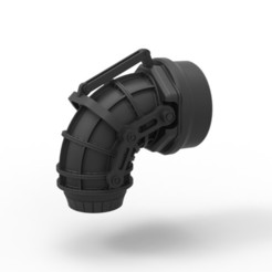 1.jpg Télécharger fichier STL Buse à jet coulée sous pression • Design imprimable en 3D, CosplayItemsRock