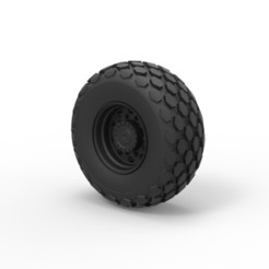3D printing model Diecast Wheel from Roller-compactor, DmK