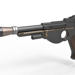 Download STL files Blaster pistol from The Mandalorian, 3DTechDesign