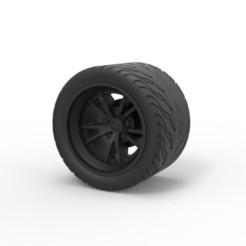 Descargar modelo 3D Diecast Sport rueda 8, 3DTechDesign