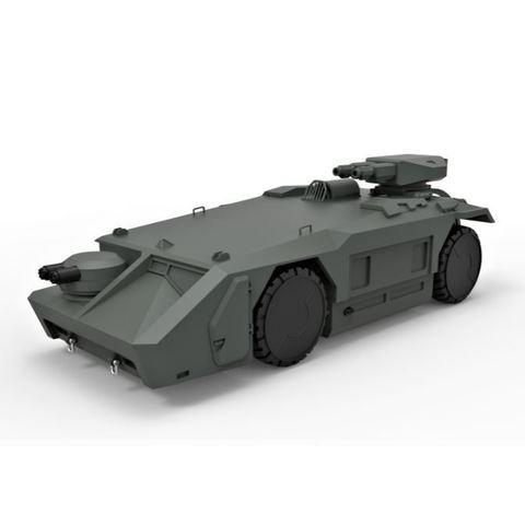 STL Modelo Diecast Vehículo blindado de transporte de tropas M577 de la película Aliens Scale 1:32, DmK