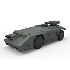 Download STL files Diecast model Armored personnel carrier M577 from the movie Aliens Scale 1:32, DmK