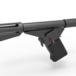 1.jpg Télécharger fichier STL Pistolet à flamme du film Logan's Run 1976 • Modèle pour imprimante 3D, 3DTechDesign