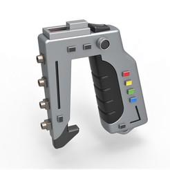 """1.jpg Télécharger fichier STL Série télévisée """"Stun Gun from Space 1999 • Objet pour impression 3D, 3DTechDesign"""