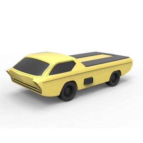 Download 3D printer files Diecast model Dodge Deora 1967 Scale 1:24, DmK