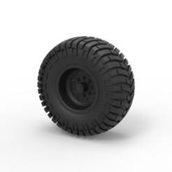 Télécharger objet 3D Roue tout-terrain moulée sous pression 10, 3DTechDesign