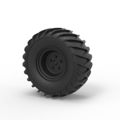 Download 3D printing models Diecast Wheel for snow, 3DTechDesign