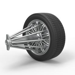 1.jpg Download STL file Diecast slab wheel Scale 1 to 10 • 3D print design, CosplayItemsRock