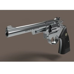 Download 3D printer files Revolver Smith & Wesson Model 22, 3DTechDesign