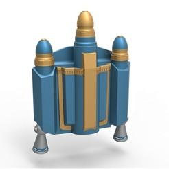 1.jpg Télécharger fichier STL Axe Woves Jetpack de la série télévisée Mandalorian • Plan imprimable en 3D, CosplayItemsRock