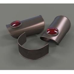 Fichier imprimante 3D Poignets de bras et bandeau de Wiccan, DmK