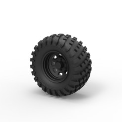Archivos 3D Diecast Offroad rueda 22, DmK