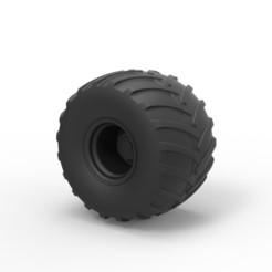 Download 3D printing files Diecast Wheel from Big Foot, DmK