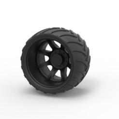 Archivos 3D Diecast Offroad rueda 13, DmK