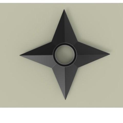 6.JPG Download free STL file Shuriken 2 • 3D printable model, CosplayItemsRock