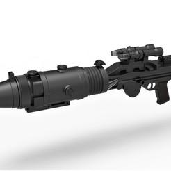 1.jpg Download STL file Stormtrooper Heavy Blaster T-21B from Star Wars • 3D printable model, CosplayItemsRock